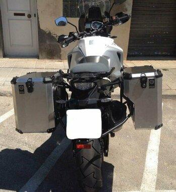 Sistema de maletas aluminio Holan Nomada Pro para KTM 1190 Adventure