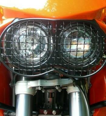 Protector de faro Holan para KTM 640 Adventure