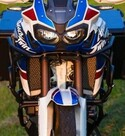Barras superiores de defensa Outback Motortek para Honda Africa Twin CRF 1000