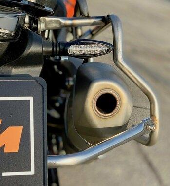 Sistema de maletas aluminio Holan Nomada Pro para KTM 790 Adventure