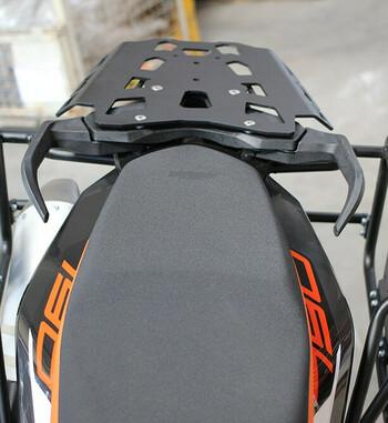 Soporte de maletas Outback Motortek para KTM 790 Adventure R / S