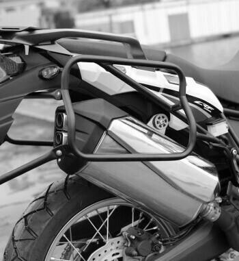 Soporte maletas Holan Pro para Honda Africa Twin CRF 1000 L