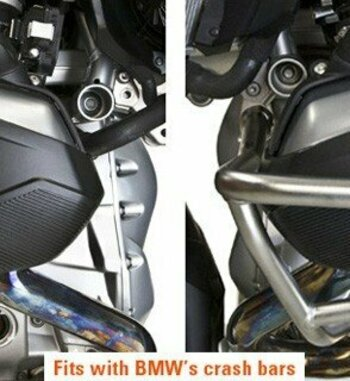 Protector culatín BMW R 1200 GS/Adv/RT/RS LC (2013-)