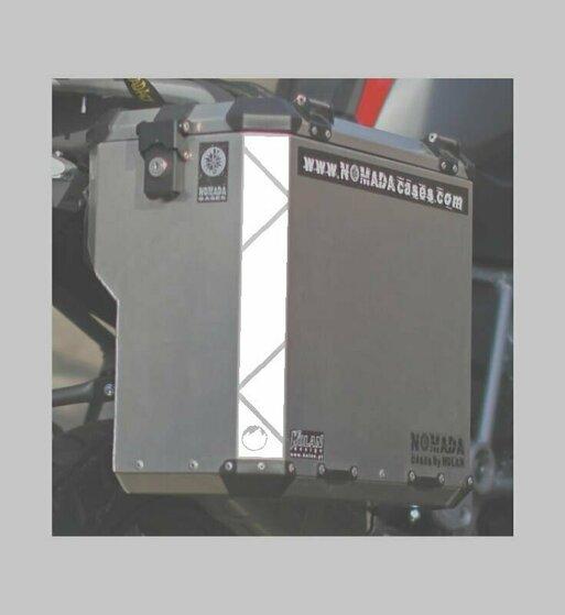 Adhesivos reflectantes para maletas y top case Holan
