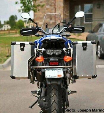 Sistema de maletas de aluminio Holan Nomada Pro para Yamaha Super Tenere 1200 ZE