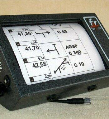 Roadbook eléctrico F2r RB750