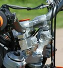 Alzas de manillar ROX Élite anti-vibración de 57mm para manillar de 28mm de diametro