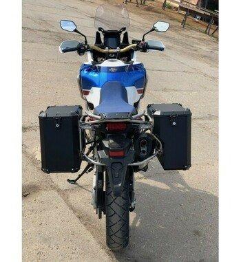 Sistema maletas aluminio Holan Nomada Pro para Honda Africa Twin CRF1000L Adventure Sports
