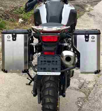 Sistema maletas aluminio Holan Nomada Pro para BMW F 850 GS y BMW F 750 GS