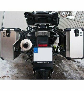 Sistema maletas aluminio Holan Nomada Pro para BMW F 800 GS