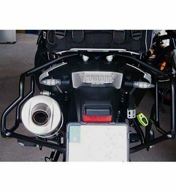 Soporte maletas Holan Pro para BMW F 800 GS